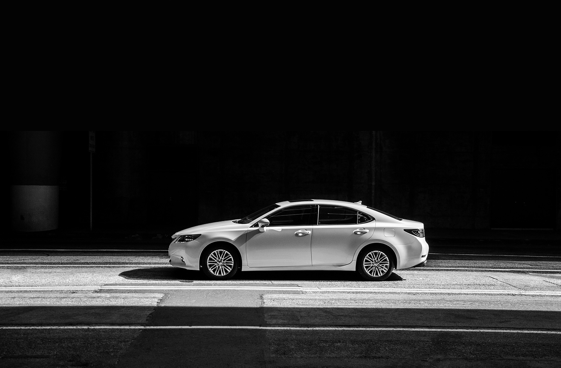 Christopher Nelson Photography|Lexus|White|Grand Avenue|DTLA