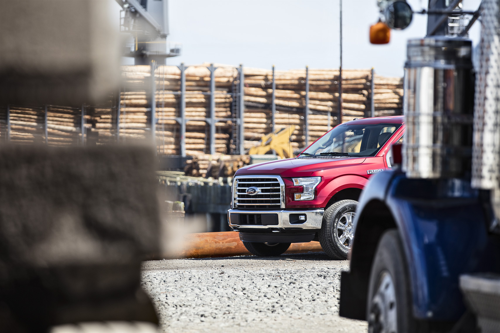 Christopher Nelson Photography|Ford 150|Red|Logging