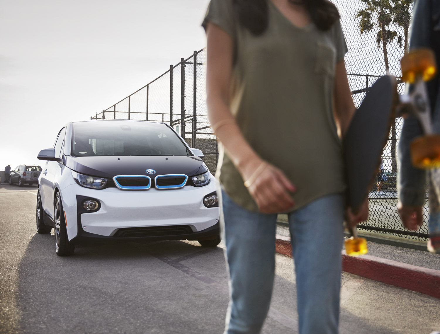 Christopher Nelson Photography|BMWi3|Lifestyle|Skate Board|Venice Beach