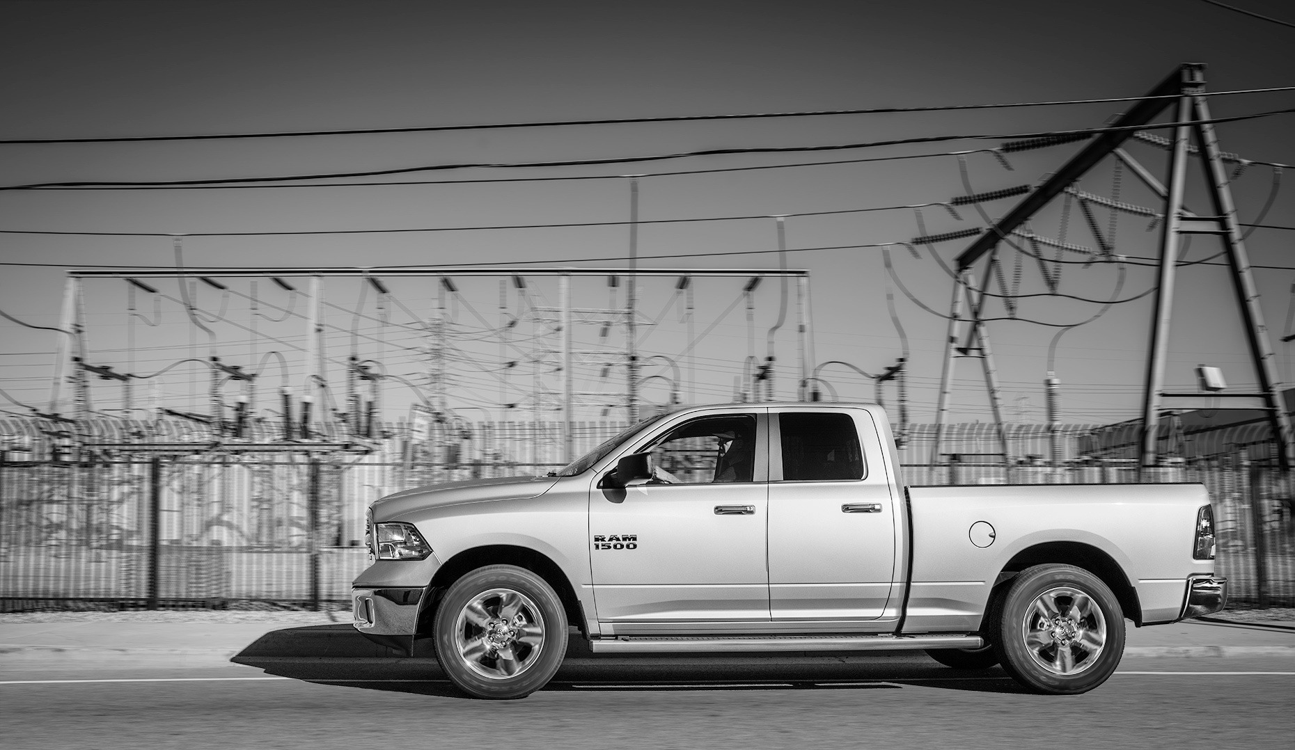 Christopher Nelson Photography|Dodge Ram Truck|Silver|6th Street Bridge|DTLA