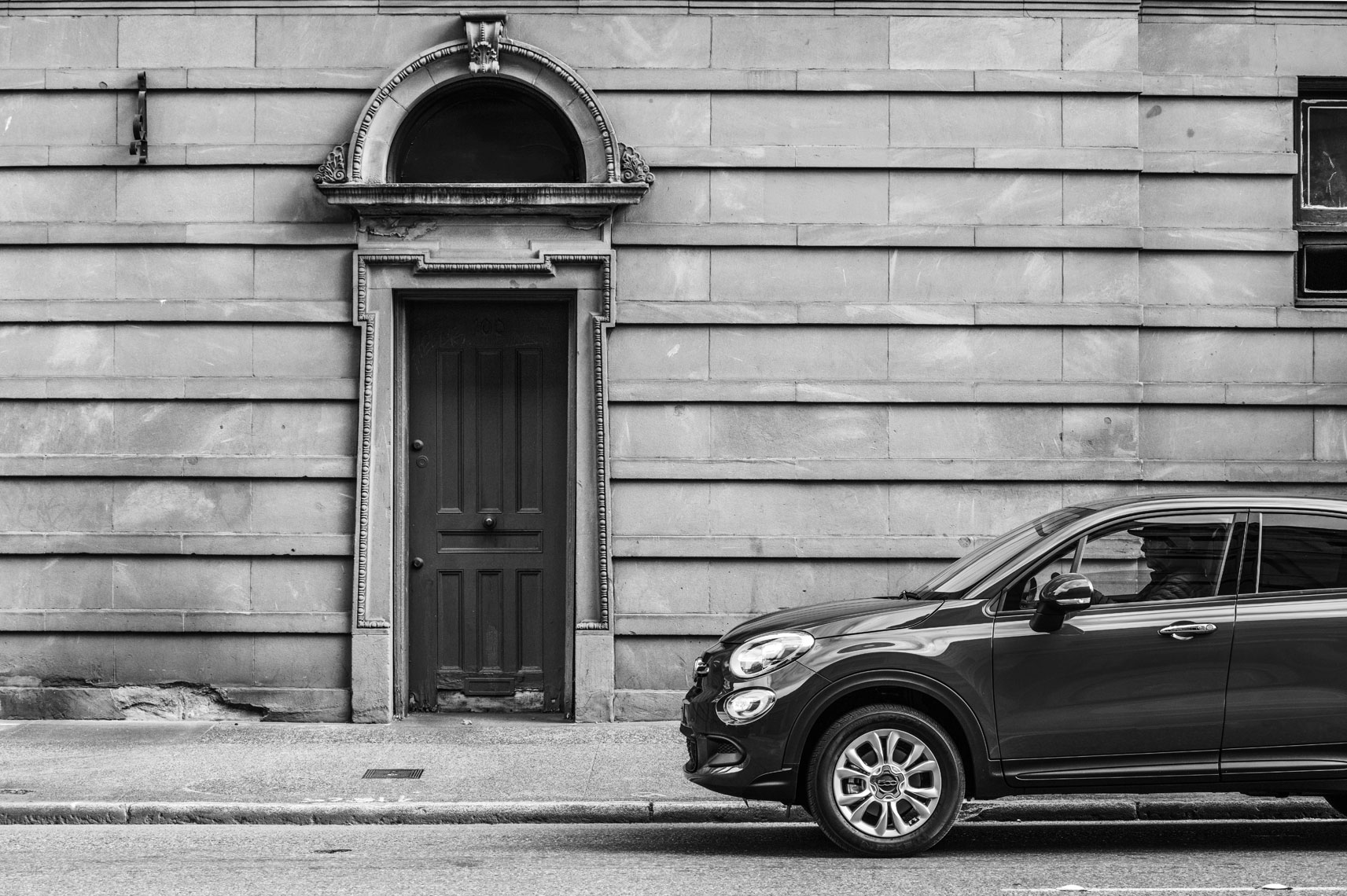 Christopher Nelson Photography|Fiat 500x|Seattle|B&W